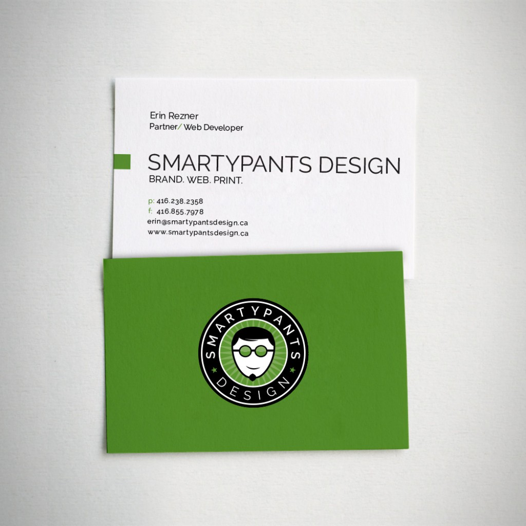 SmartyPants Design Business Cards