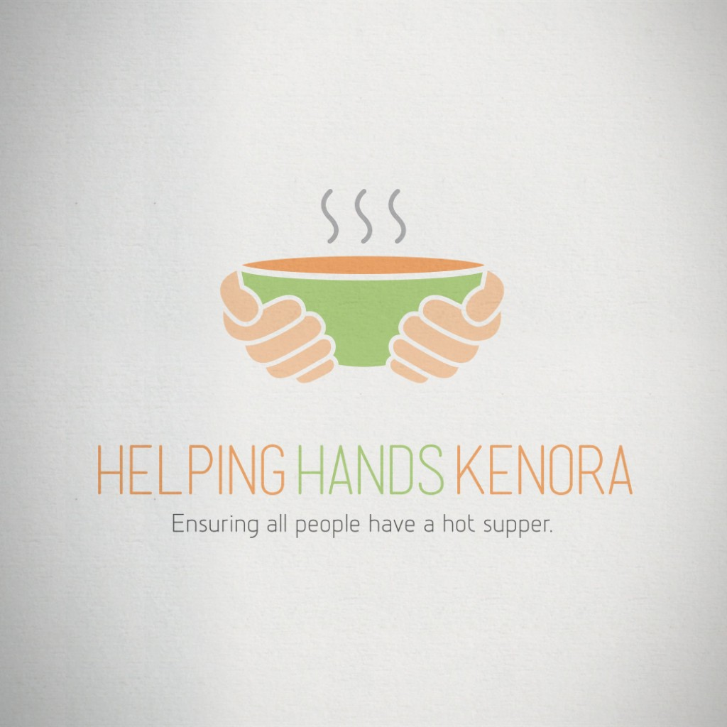 Helping Hands Kenora Logo
