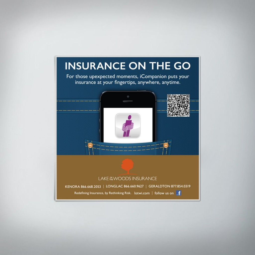 Lake of the Woods Insurance Airline Ad